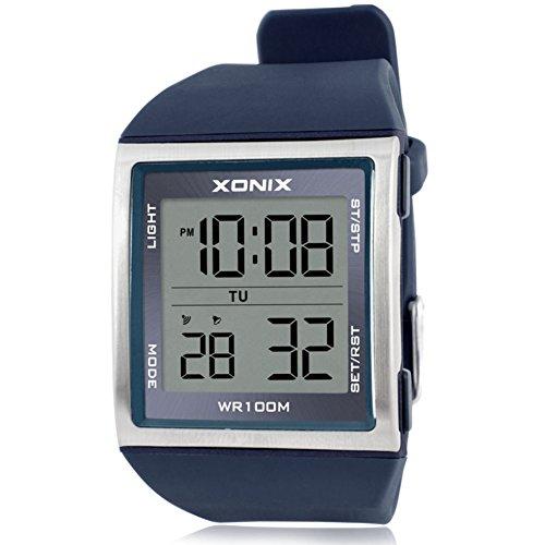 Armbanduhr Business Multifunktionledwasserdichte Digital Mode Business Multifunktionledwasserdichte Armbanduhr Mode Business Digital Mode 8knXNwP0ZO