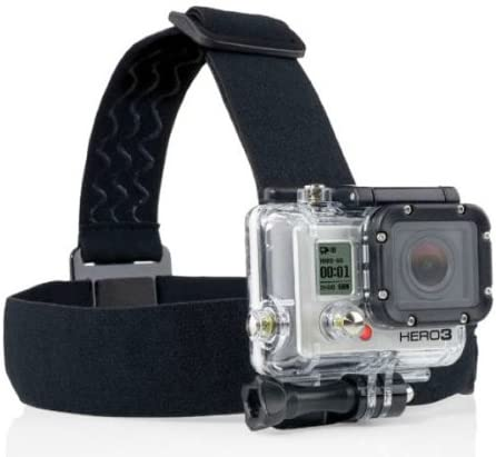 Head Strap for All Gopro Hero 5 4 3 3 2 SJ4000 SJ5000 with Anti-Slide Glue