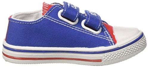Disney Canvas Low, Zapatillas Para Niños Blu (Royal)