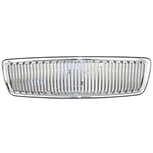Koolzap For 98 Volvo C70/S70/V70 Front Grill Grille Assembly Chrom Silver VO1200110 - Grille C70