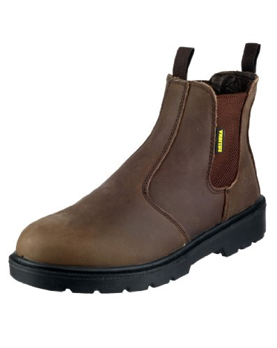 Mens Amblers Boots Safety Brown Mens Amblers Boots Brown Safety SaFFtvxq