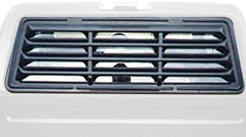Willpak Industries 3133 ABS Classic Style Design Truck Rear Window Louver for Ford (Truck Window Louvers)