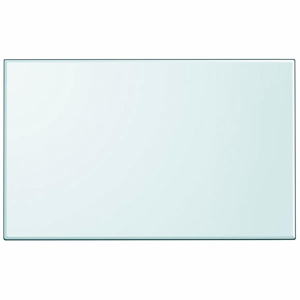 vidaXL Dessus de table ronde pour table /à manger table basse verre tremp/é 400 mm