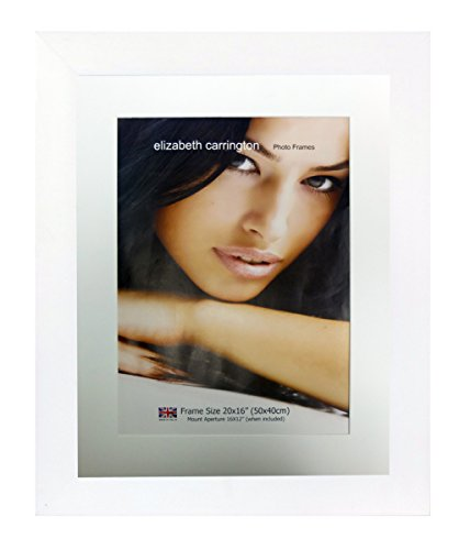 - Elizabeth Carrington Picture/Photo, Tokyo Range, Alabaster White, 20x16 Inch Frame with 16x12 Inch Mount, 20x16 (16x12)
