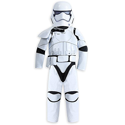 [Star Wars Stormtrooper Costume for Kids - Star Wars: The Force Awakens Size 7/8 428693328742] (Stormtrooper Disney)
