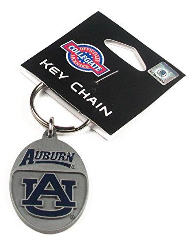 College Team Logo Key Ring - Auburn Tigers