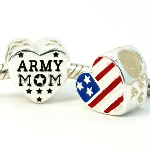 Pugster American Flag - .925 Sterling Silver