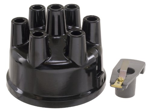 Wells F2111 Distributor Cap and Rotor (Ford Custom Distributor Cap)