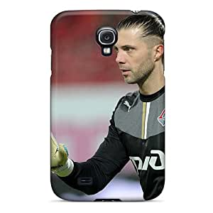 New Arrival Cover Case With Nice Design For Galaxy S4- Lokomotiv Goalkeeper Ilya Abaev On The Gate