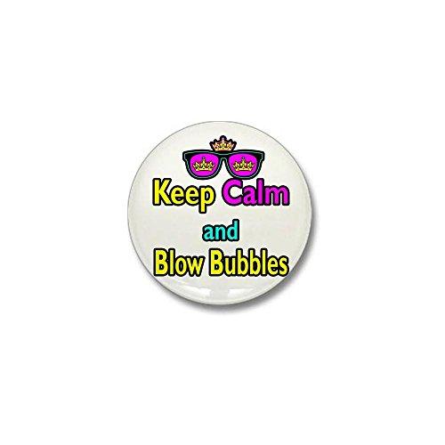 CafePress - Crown Sunglasses Keep Calm And Blow Bubbles Mini B - 1