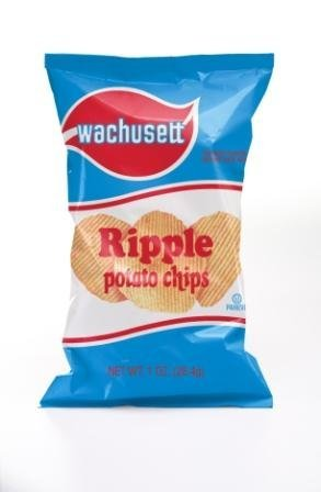 Wachusett Ripple Chips, 1-Ounce Bags (36 pack) made in New England