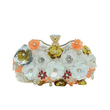 de grade de Gems haut sac soirée Femmes White manuel luxe de q6wAO
