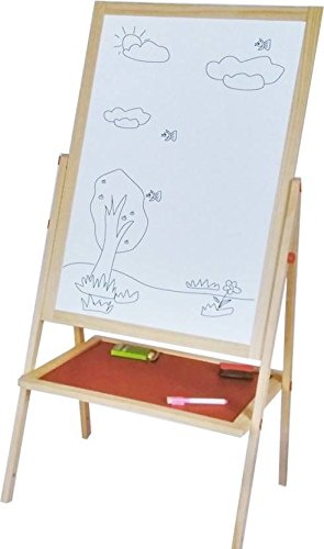 Buy Emob Wooden Multifunctional 2 in 1 Foldable Drawing and Writing ...
