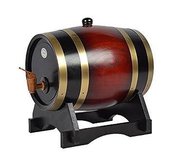 Dispensador de vino de barril de madera Pine 15L, 1: Amazon.es: Salud y cuidado personal