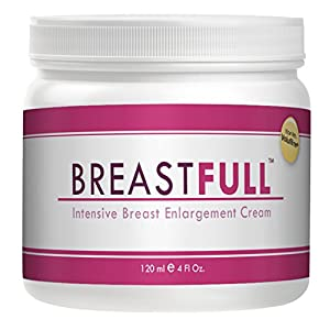 BreastFull Intensiv Breast Enlargement Cream – Clinically Tested to Increase Bust Size 8.4% in 56 Days – 1 Month Supply