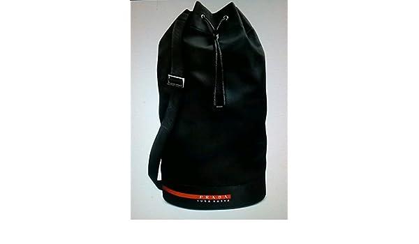 ab3e309117c4 Amazon.com : PRADA LUNA ROSSA EXTREME BLACK SAILING BAG : Beauty