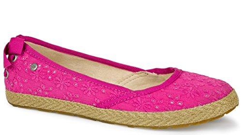 UGG Australia Kinder tassy Ösen Schuhe Rosa