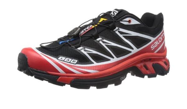 SALOMON S-Lab XT 6 Softground Zapatilla de Trail Running Unisex, Negro/Rojo, 39 1/3: Amazon.es: Zapatos y complementos