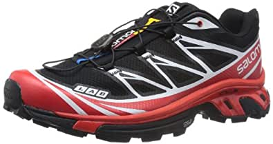 Salomon Mens SLab Xt 6 Softground SneakersBlack85 D