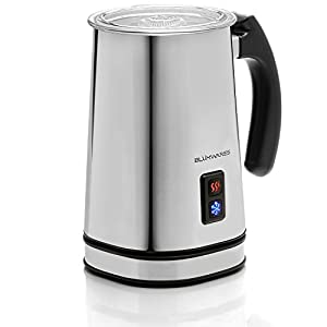 Blümwares Vienne Automatic Milk Frother and Heater | Stainless Electric Carafe | Frother – super easy to clean