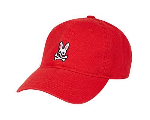 Psycho Bunny Men's Sunbleached Cap Fire One Size]()
