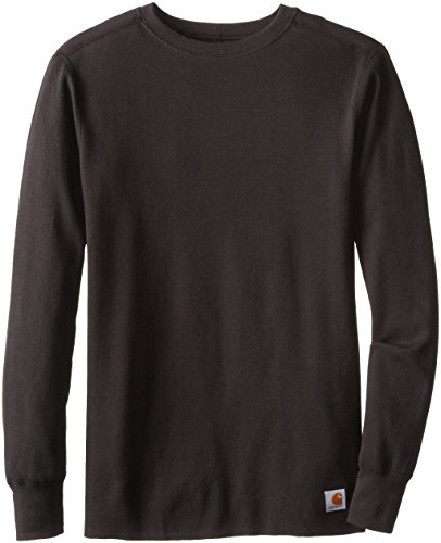 Carhartt Men's Tall Base Force Super-Cold Weather Crew Neck Top,Black,Large Carhartt Thermal