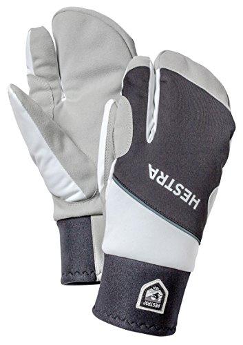Hestra Comfort Tracker 3-Finger Gloves,Black/Off (Tracker Cross Country Skis)
