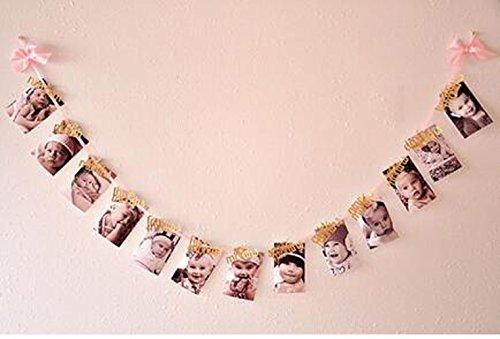 Handmade Monthly Garland Birthday Decorations product image