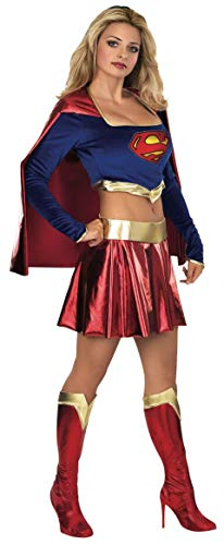 DC Comics Secret Wishes Deluxe Supergirl Adult Costume