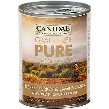 Canidae Grain Free Pure Elements Chicken, Turkey, & Lamb Canned Cat Food, 13 oz. by CANIDAE