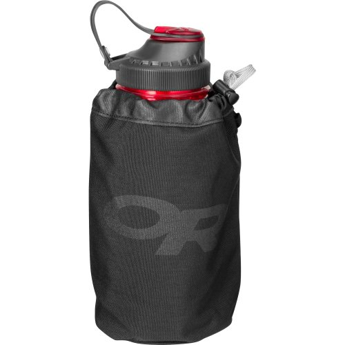 Outdoor Research Water Bottle Tote 1L, Black, 1Size