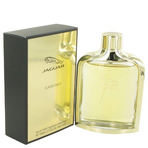 Jaguar Classic Gold By Jaguar Eau De Toilette Spray 3.4 Oz For Men