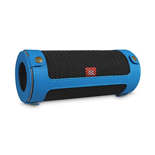 Water Resistant Silicone Bluetooth Speaker (Red) - 7