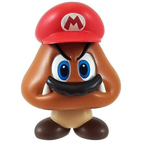 World of Nintendo Super Mario Captured Goomba 2.5-Inch Mini Figure -