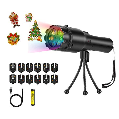 Projector Lights Christmas Projector Flashlight for Kids, BESTSUN