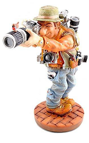 Parastone Photographer Taking Pictures Long Lens Funny Statue PRO39 Profisti (Photographer Statue)