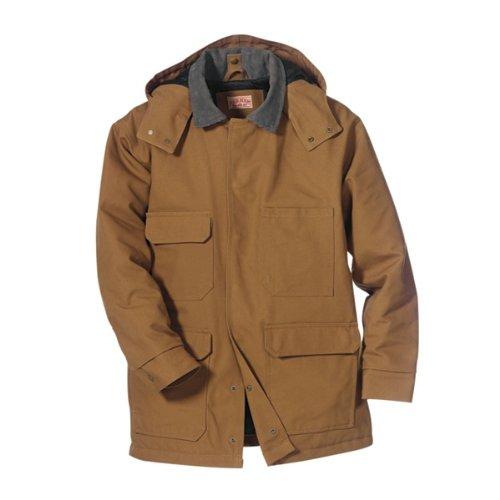 Red Kap Men's Blended Duck Chore Coat, Brown Duck, 3X-Large