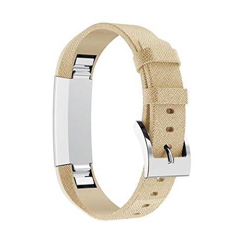 Oucan For Fitbit Alta/Alta HR, Genuine Classic Leather Replacement Band for Fitbit Alta HR and Fitbit Alta (No Tracker)