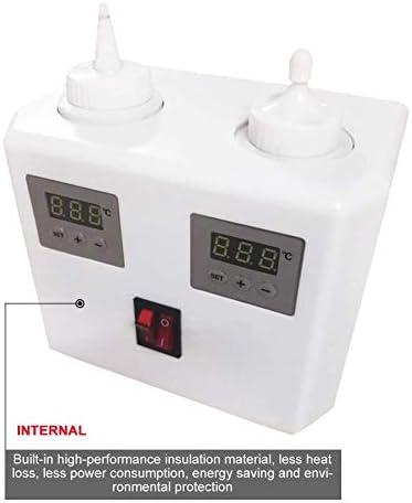 Calentador de acoplamiento de gel de ultrasonido Calentador de agente de acoplamiento doble Calentador de cilindro de mermelada Calentador termostático de alta eficiencia para salsa de chocolate Aco