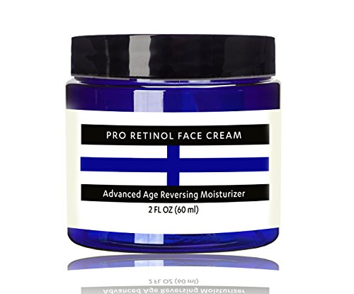 Raw Biologys Retinol Face Cream Moisturizer VOTED BEST Anti Aging Daytime and Nighttime Resurfacing Eye & Face Cream