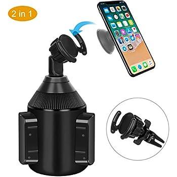 Amazon.com: Soporte de teléfono KHTONE, ventilación de aire ...