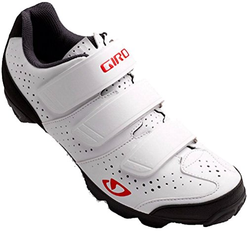 Giro Riela R Womens MTB Shoes White/Coral 38