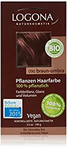 Logona Herbal Hair Color Brown Umber, 3.5 Ounce