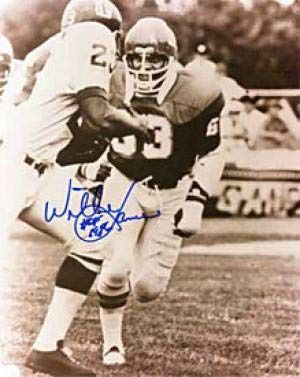 Autographed Willie Lanier Photo - 8x10 - Autographed NFL Photos
