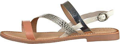 Silver 50 Sandals 627910 Womens Kickers BTwq7v7