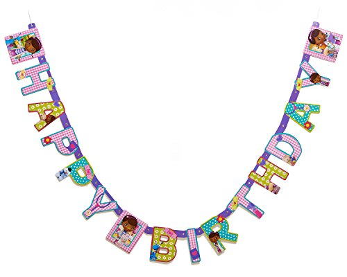 Doc McStuffins Birthday Party Banner, Party (Party City Invitations Birthday)