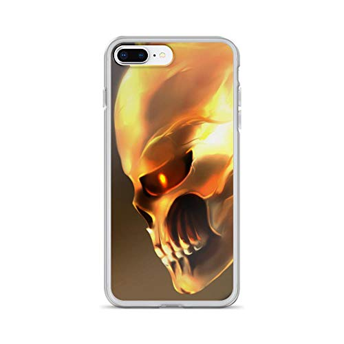 iPhone 7 Plus/8 Plus Anti-Scratch Shockproof Clear Case The Ghost Rider