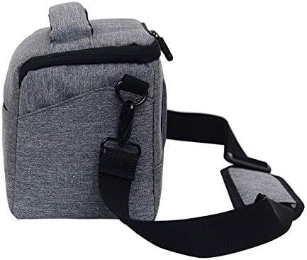 Size:Small Premium Material XIAOMIN Waterproof DSLR Camera Bag for Nikon Canon Sony Panasonic etc Camera Color : Coffee