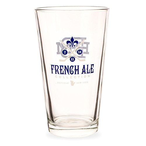 French Ales Collection Pint Glass - 16 oz