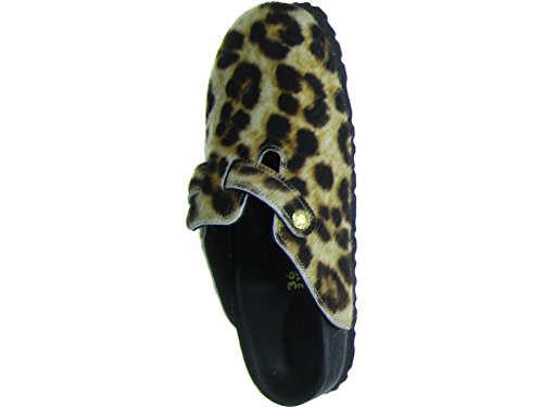 Birkenstock Boston Snow Leopard Exquisit